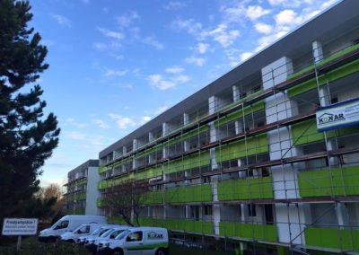 Balkonsanierungen-Großobjekt