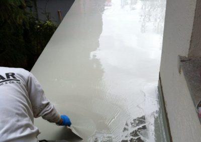 Terrassenbeschichtung-Facharbeiter