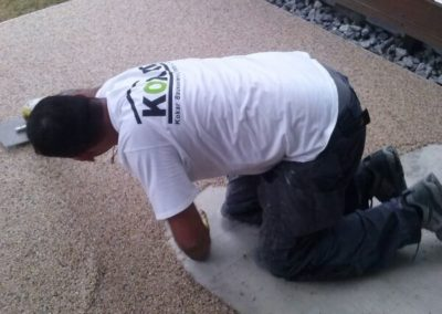 Terrassensanierung-Natursteinspachtelung