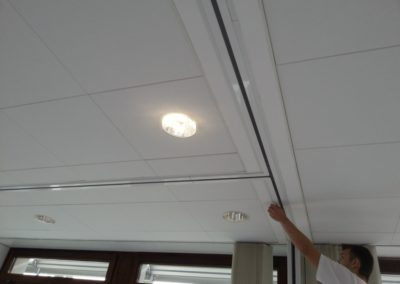 Trockenbau-innanausba-deckenbeleuchtung